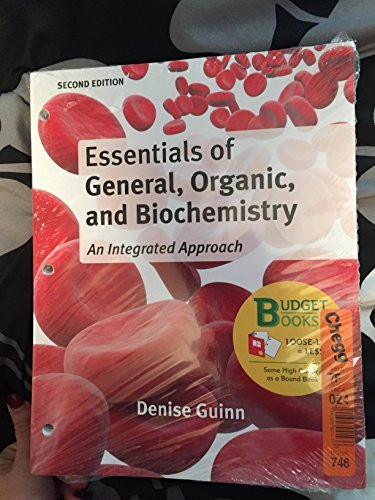 Essentials Of General Organic And Biochemistry