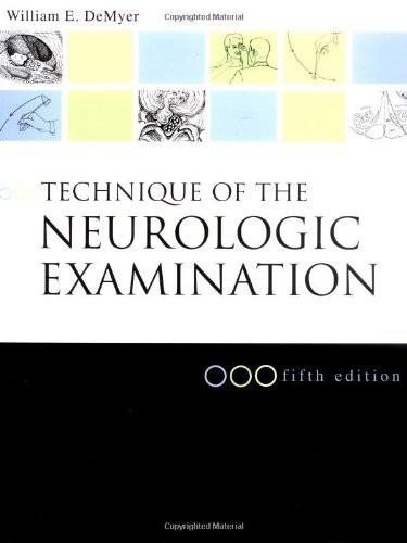 Technique Of The Neurological Examination