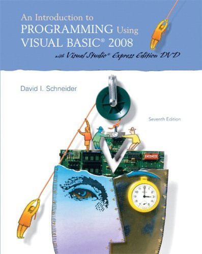 Introduction To Programming Using Visual Basic