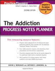 Addiction Progress Notes Planner