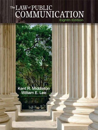 Law Of Public Communication