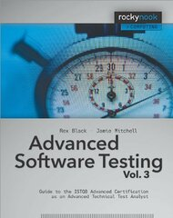 Advanced Software Testing Volume 3