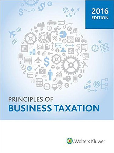 Principles of Business Taxation