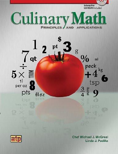 Culinary Math Principles And Applications