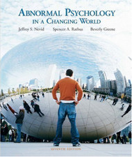 Abnormal Psychology In A Changing World