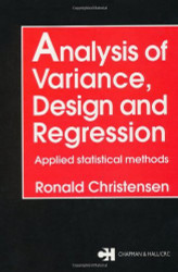 Analysis Of Variance Design And Regression