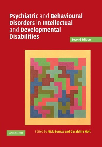 Psychiatric And Behavioural Disorders In Intellectual And Developmental
