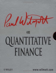 Paul Wilmott On Quantitative Finance 3 Volume set