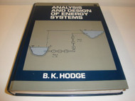 Analysis And Design Of Energy Systems/Book And Diskette