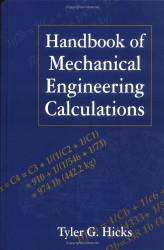 Handbook Of Mechanical Engineering Calculations