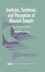 Analysis Synthesis And Perception Of Musical Sounds