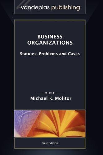 Business Organizations