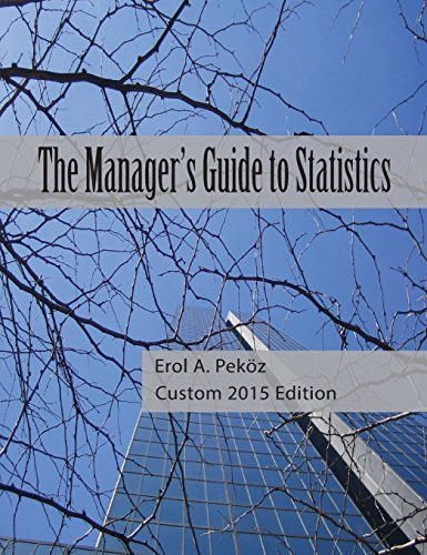 Manager's Guide To Statistics