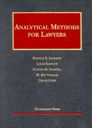 Analytical Methods For Lawyers