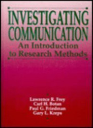 Investigating Communication