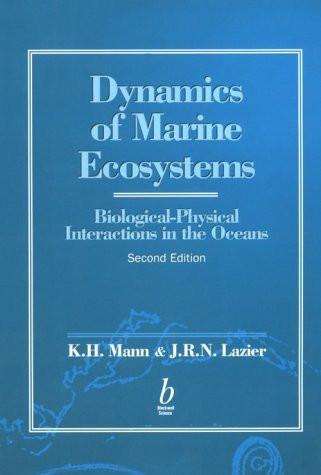 Dynamics Of Marine Ecosystems