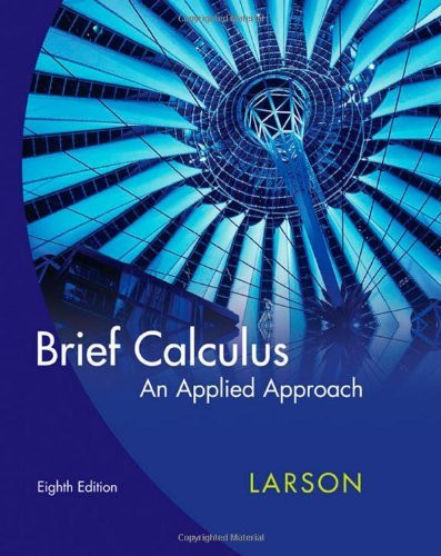 Brief Calculus An Applied Approach