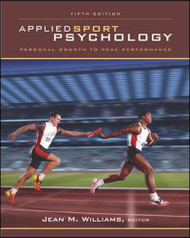 Applied Sport Psychology   by Jean Williams