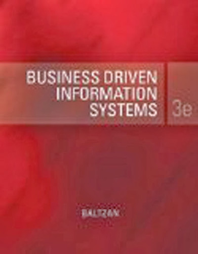 Business Driven Information Systems