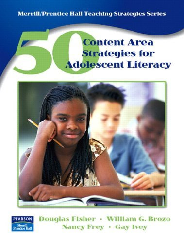 50 Content Area Strategies For Adolescent Literacy