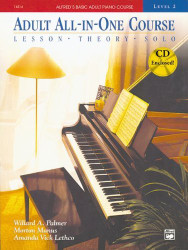 Alfred's Basic Adult Piano Course All-In-One Level 2