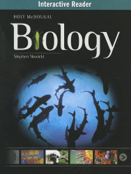 Mcdougal Biology Interactive Reader