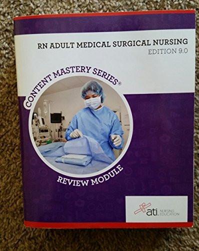 Rn Adult Medical Surgical Nursing Edition 9 0