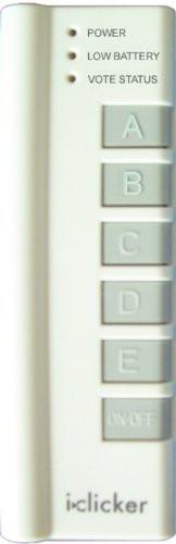I>Clicker Student Remote
