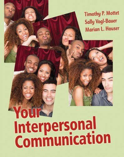 Your Interpersonal Communication