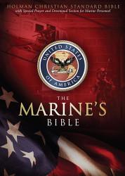 Hcsb Marine's Bible Burgundy Simulated Leather