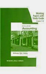 College Accounting Working Papers 1-13