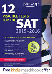 Kaplan 12 Practice Tests For The Sat