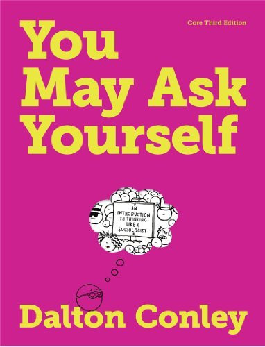 You May Ask Yourself