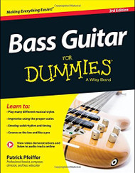 Bass Guitar For Dummies Book + Online Video And Audio Instruction