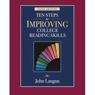 Ten Steps To Improving College Reading Skills Instructor's Edition