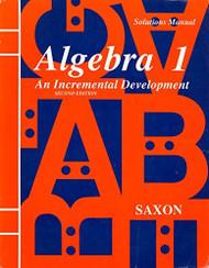 Algebra 1 Solutions Manual