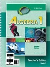 Algebra 1 For Christian Schools Teacher's Edition