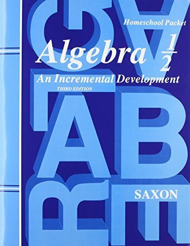 Algebra 1/2 An Incremental Development Tests and Answers