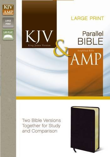 Kjv And Amp Parallel Bible Large Print
