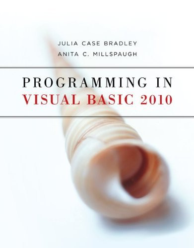 Programming In Visual Basic