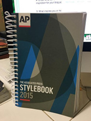 Associated Press Stylebook 2015
