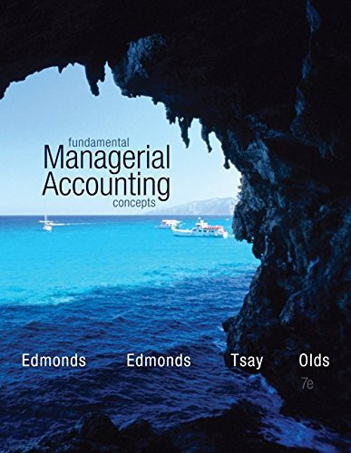Fundamental Managerial Accounting Concepts