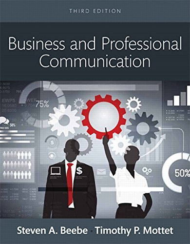 Business and Professional Communication Books