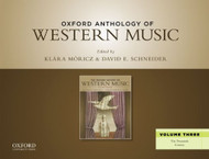 Oxford Anthology Of Western Music Volume 3