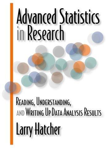 Advanced Statistics In Research