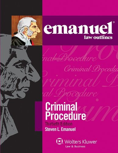 Emanuel Law Outlines Criminal Procedure