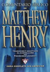 Comentario Biblico Matthew Henry