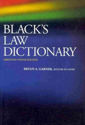 Black's Law Dictionary Abridged