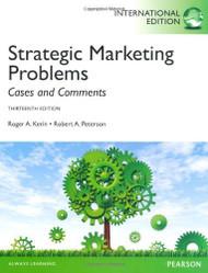 Strategic Marketing Problems