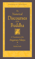 Numerical Discourses Of The Buddha